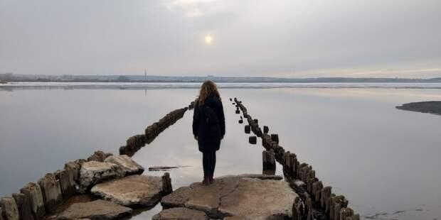 Раз в год из вод Ижевского пруда показываются загадочные руины