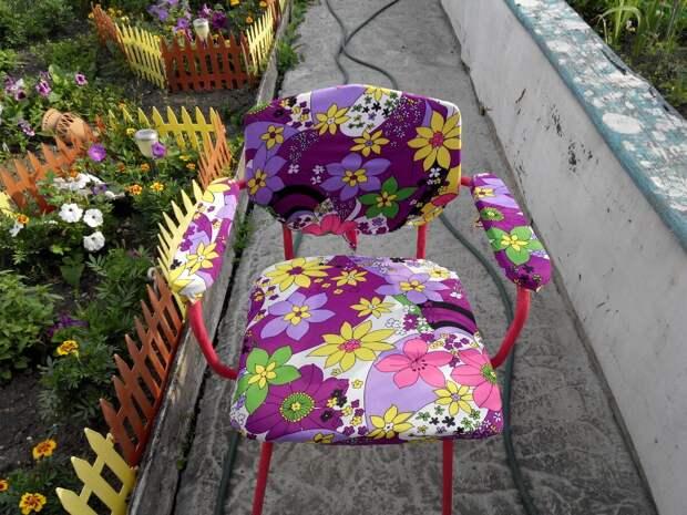Переделка старых стульев. Новая жизнь вещей.