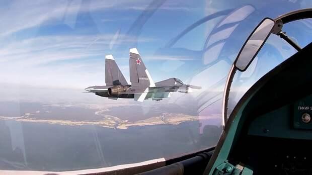 Страх и слезы. Итальянский летчик о внезапной встрече с СУ-30 над Балтикой