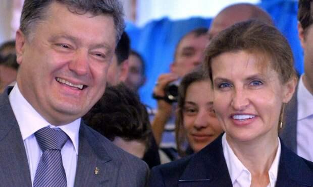 Марина и Петр Порошенко пустились в пляс сразу после смерти их отцов, умерших с разницей в 1 месяц