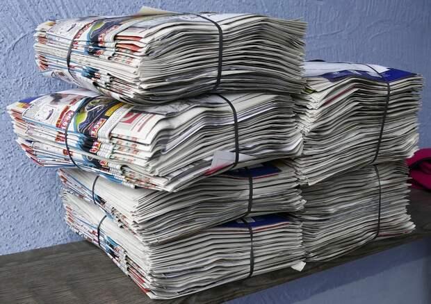 Газеты, Проспекты, Стек, Стопку Бумаги, Макулатура