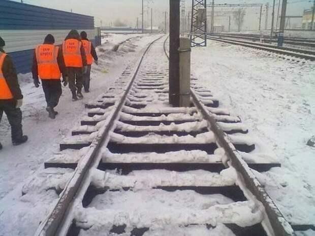 Поезд, которому здесь не место