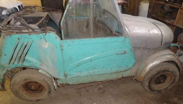 """Реставрация СМЗ с3а """"Моргуновка"""" авто, реставрация, длиннопост, ретроавтомобиль, не мое"""