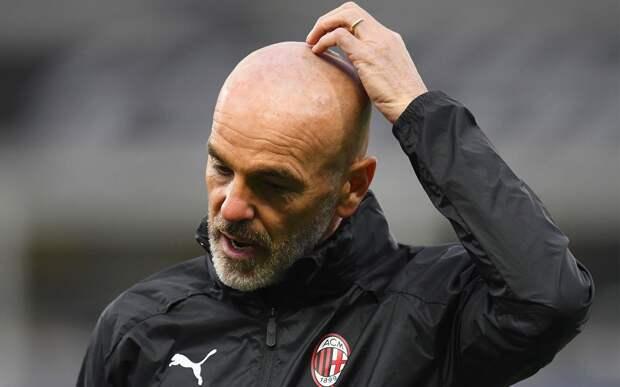 «Милан» уволит Пиоли, если клуб не пробьется в Лигу чемпионов на следующий сезон