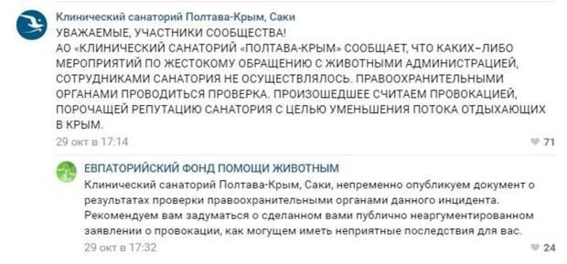 Забота о клиентах: в крымском санатории на глазах у детей убили 20 кошек