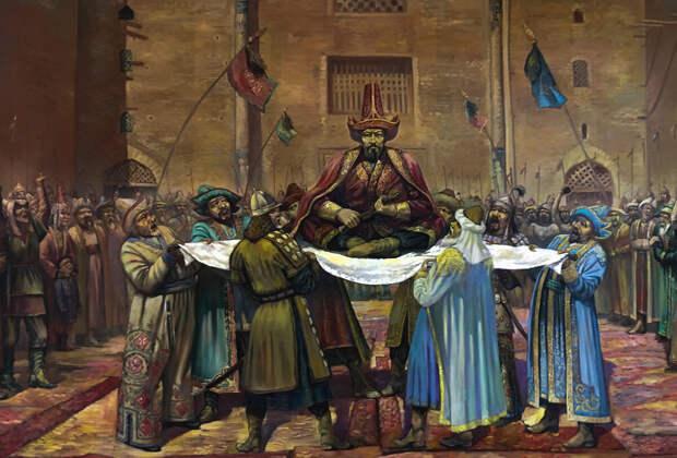 Еще раз о содержании термина орда и категориях «Золотая Орда», «Белая Орда», «Синяя Орда».