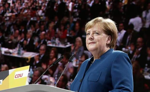 На фото: канцлер ФРГ Ангела Меркель