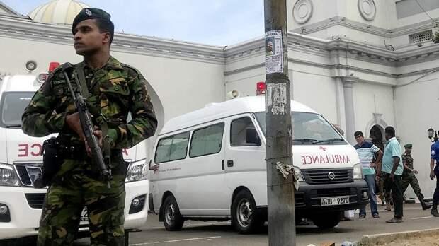 Девятый взрыв произошел на Шри-Ланке