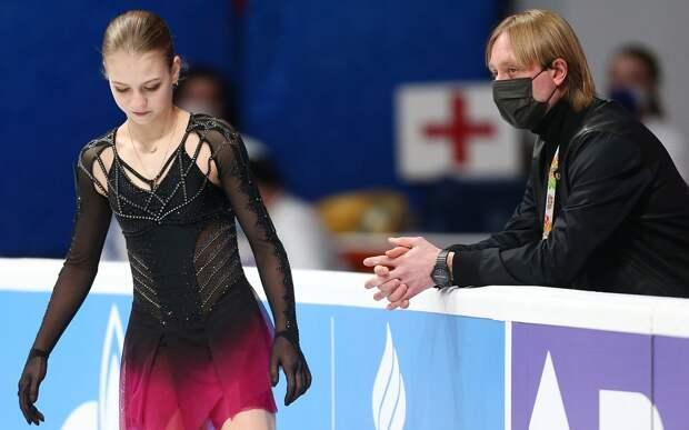 Трусова: «На чемпионате мира не хватало собачки, мамы и второго тренера»