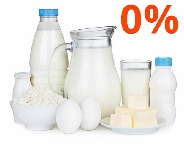 Обезжиренные молочные продукты нарушают метаболизм
