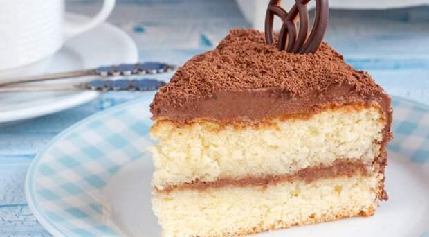 Трюфельный торт с кремом Шарлотт