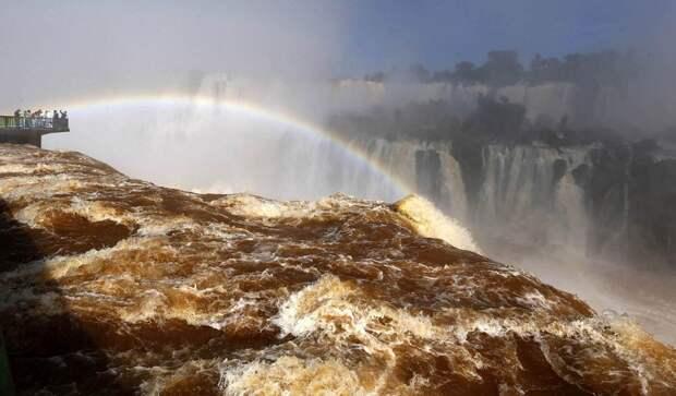 Iguazu 4 Захватывающие дух водопады Игуасу