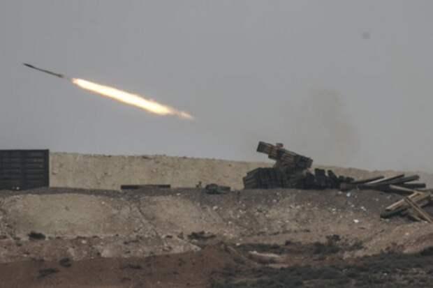 В Сирии ударом ракеты уничтожен турецкий блок-пост, пятеро ранены