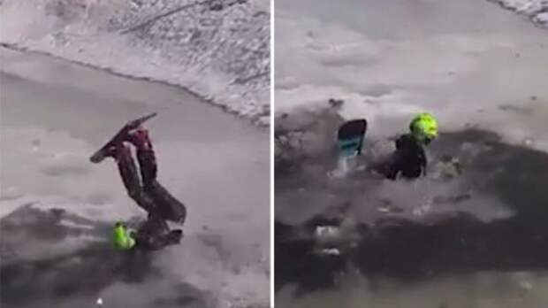 Улетел в ручей: сноубордист погиб на горнолыжном курорте «Шерегеш»