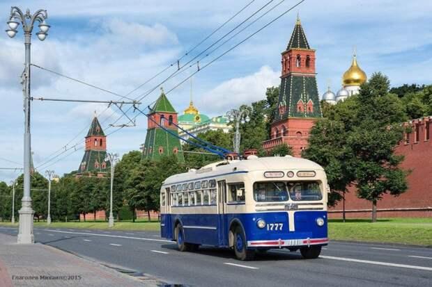 Московский троллейбус - последний маршрут
