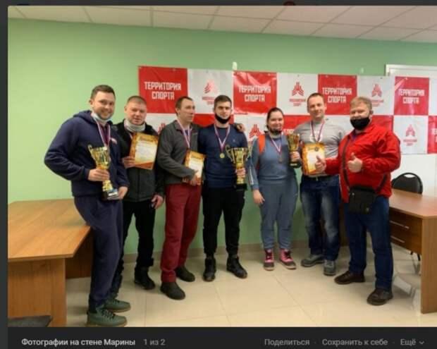 Команда из Бабушкинского  выиграла золото на окружном турнире по шашкам