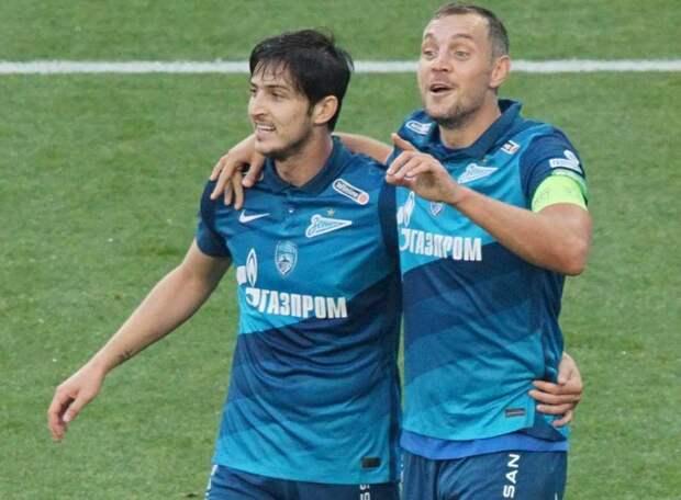 Это разгром! «Зенит» воспользовался провалом ЦСКА и увеличил отрыв в чемпионской гонке до 5 очков. Азмун показал Дзюбе, как надо забивать с «точки»
