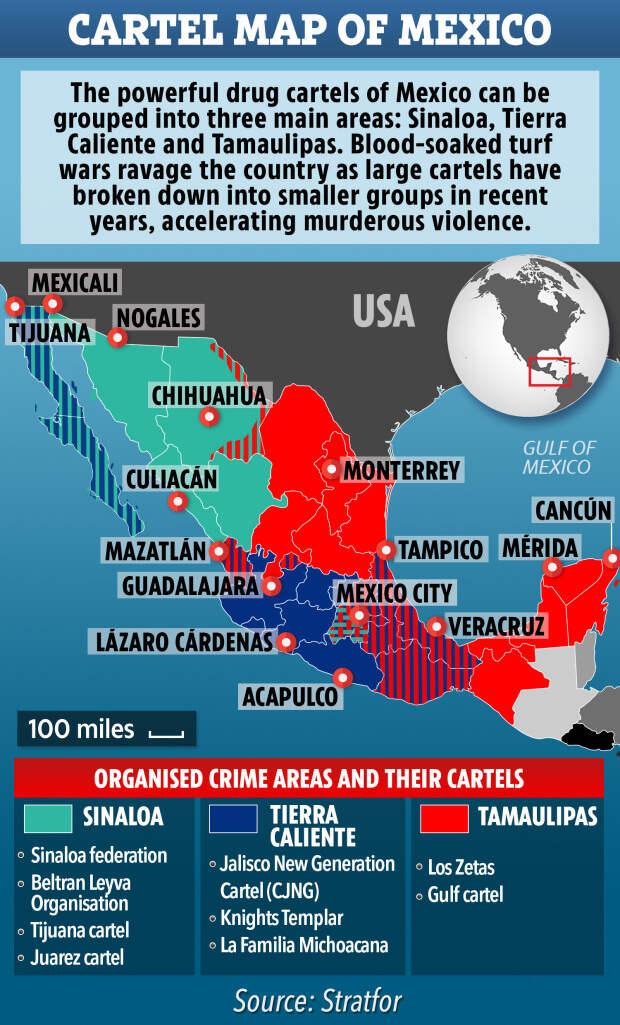"""Будни """"войны с наркотиками"""" в Мексике"""