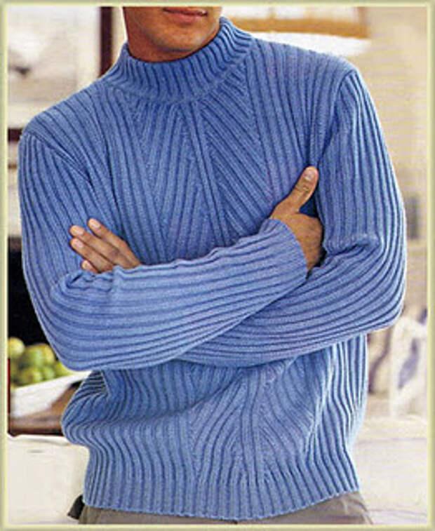 Мужские пуловеры ( спицы)