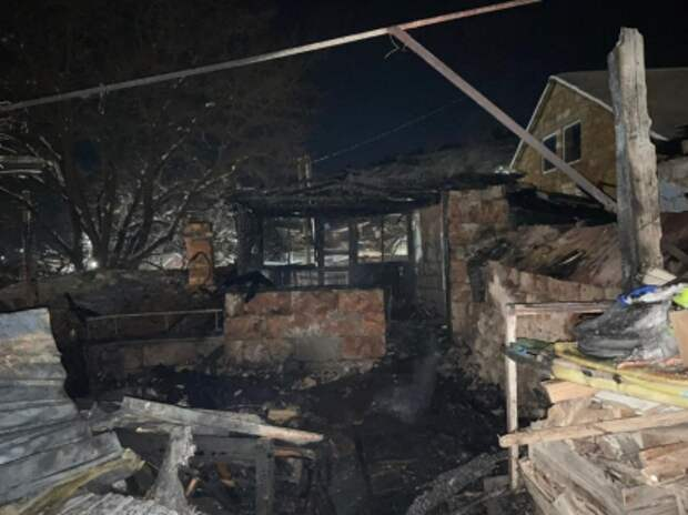 Младенец погиб на пожаре в Бахчисарае