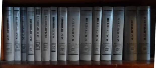 Дневники Пришвина, изданные на бумаге