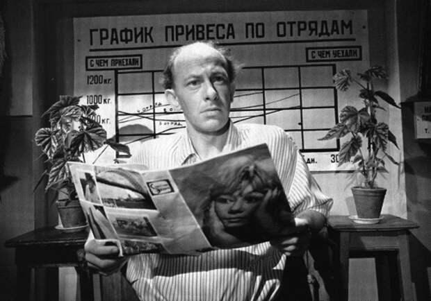 Евгений Евстигнеев: Знакомые всё лица...