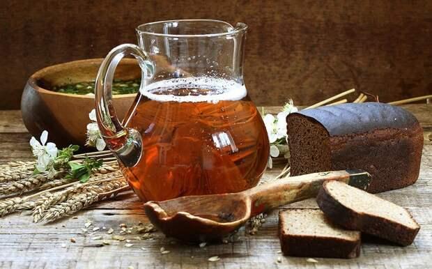 Вкуснейший домашний квас: освежающий летний напиток