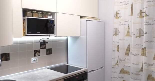 Мастерица воплотила отличную идею: «швейная мастерская» из кухни и обратно за 10 минут