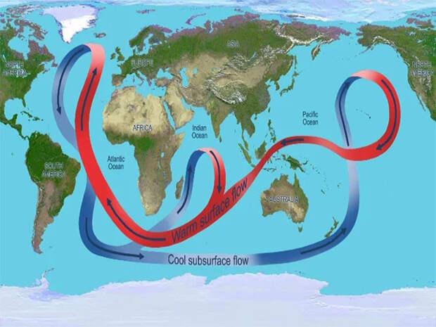 Учёные бьют тревогу: океаническое течение Гольфстрим поменяло направление