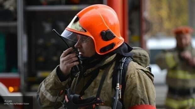 Спасатели ликвидировали пожар в доме на северо-востоке Москвы