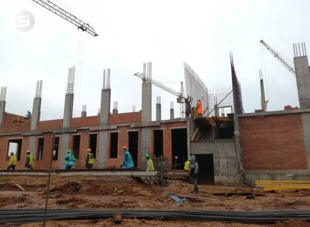 Удмуртия может не получить денег на завершение строительства школы на улице Берша