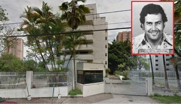 Как сносили дом Пабло Эскобара в Колумбии