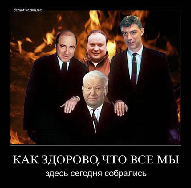 Роль Ельцина в развале СССР