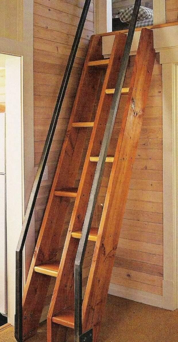 Немного всяких деревянных извращений Фабрика идей, идеи, красота, лестницы, странное, строительство, удивительно