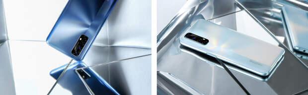 90-герцевый экран, новейшая игровая платформа и 30-ваттная зарядка при цене в 200 долларов. Представлен Realme 7, а заодно и Realme 7 Pro