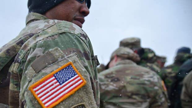 Военнослужащий армии США. Архивное фото