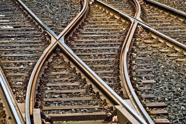 Рельсы, Мягкие, Gleise, Железнодорожных