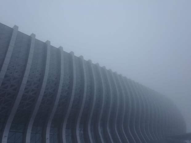 В Симферополе задерживают самолёты из-за тумана