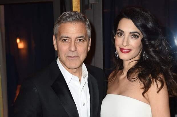 История любви самой крепкой пары Голливуда — Джорджа и Амали Клуни