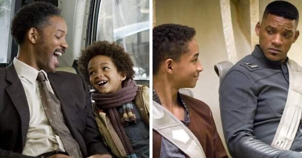 Фильмы, в которых родственных персонажей играли реальные родственники