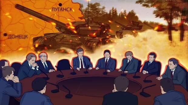 Украина отказалась вести прямые переговоры с Донбассом