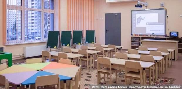 Собянин оценил ход строительства новой школы на 300 мест в Солнцеве. Фото: Е. Самарин mos.ru