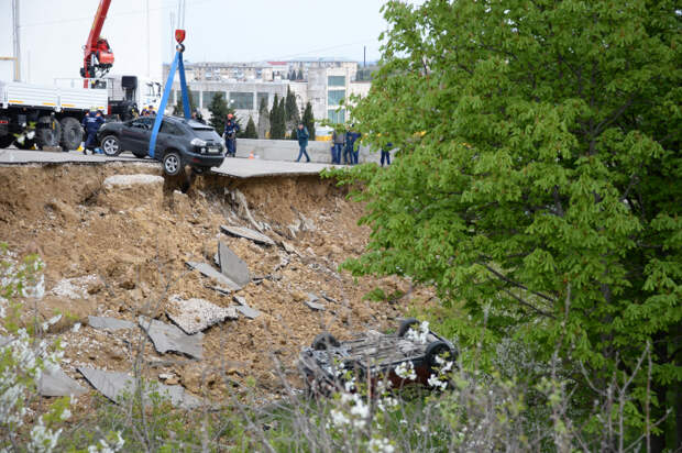 В Севастополе отремонтируют подпорную стену на проспекте Победы