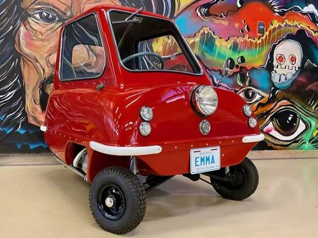 Самая маленькая машина в мире.