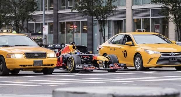 Команда Red Bull снимет короткометражный фильм о болиде Формулы-1 на улицах города