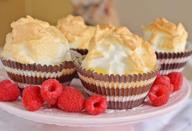 Мини-кексы с лимонной меренгой — взрыв вкуса в каждом кусочке
