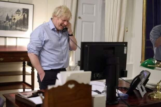 Байден провёл телефонный разговор с Борисом Джонсоном