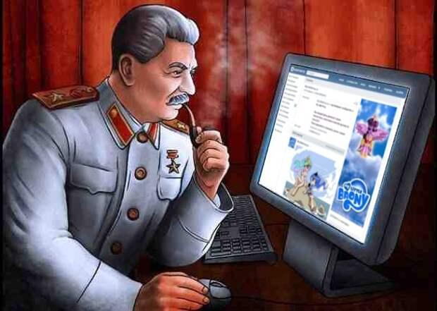 Сталин жесток в глазах нынешнего времени. Но жил-то он в свое!