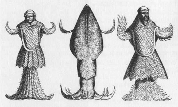 Морской Монах и Морской Епископ - странные рыбы из средневековых бестиариев