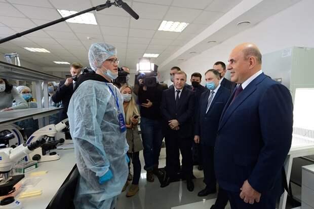 Михаил Мишустин побывал в Региональном центре для одаренных детей «Полярис-Адыгея»